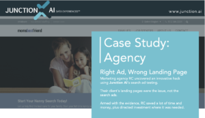 Junction AI Case Study Marketing Agency Performance Hack