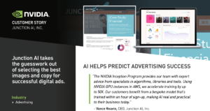 NVIDIA Customer Story Junction AI Predict Ad Success with AI