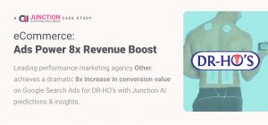 Junction AI delivers 8x Conversions with AI for Dr Ho