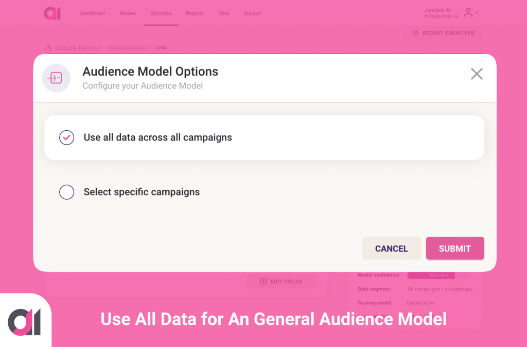Junction AI-Audience Model-Segment by All Data