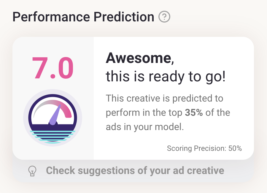 Junction AI New Performance Prediction Scoring